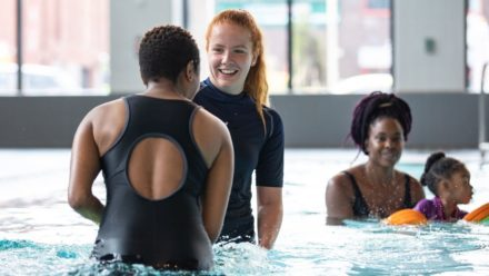 Build your confidence – become a swimming teacher