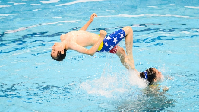 Swim England recruits first two boys to artistic swimming national youth squad