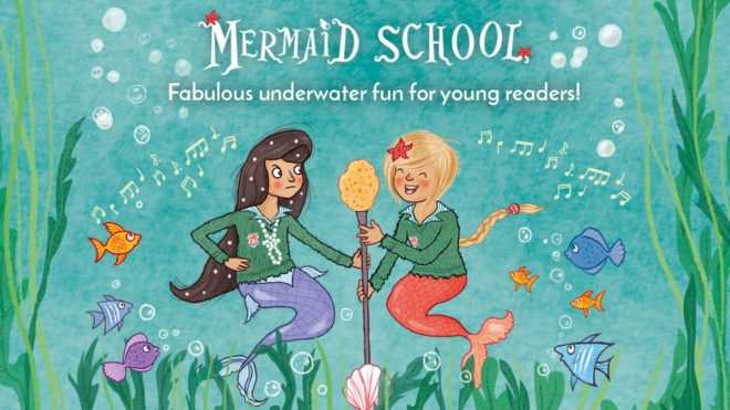 Recommended reads for young swimmers ... Mermaid School