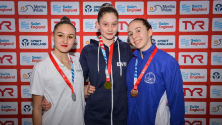 Evie and Francesca win two national titles in two days