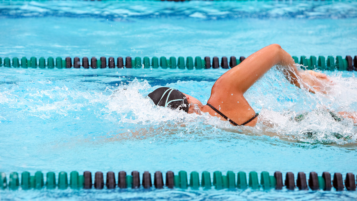 Four common front crawl mistakes and how to improve them