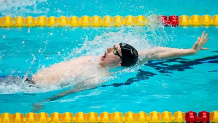 Luke Greenbank breaks own record at Edinburgh International Swim Meet