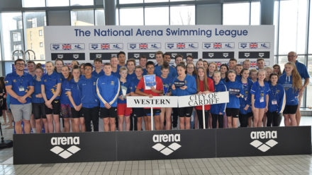 Cardiff lead Welsh one-two in National Arena Swimming League B final
