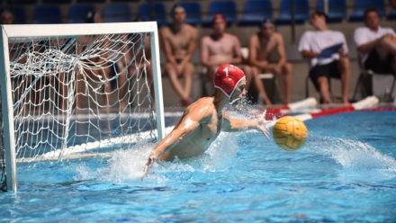 Great Britain goalkeeper Elliot McHugh's top drills for staying active out the pool