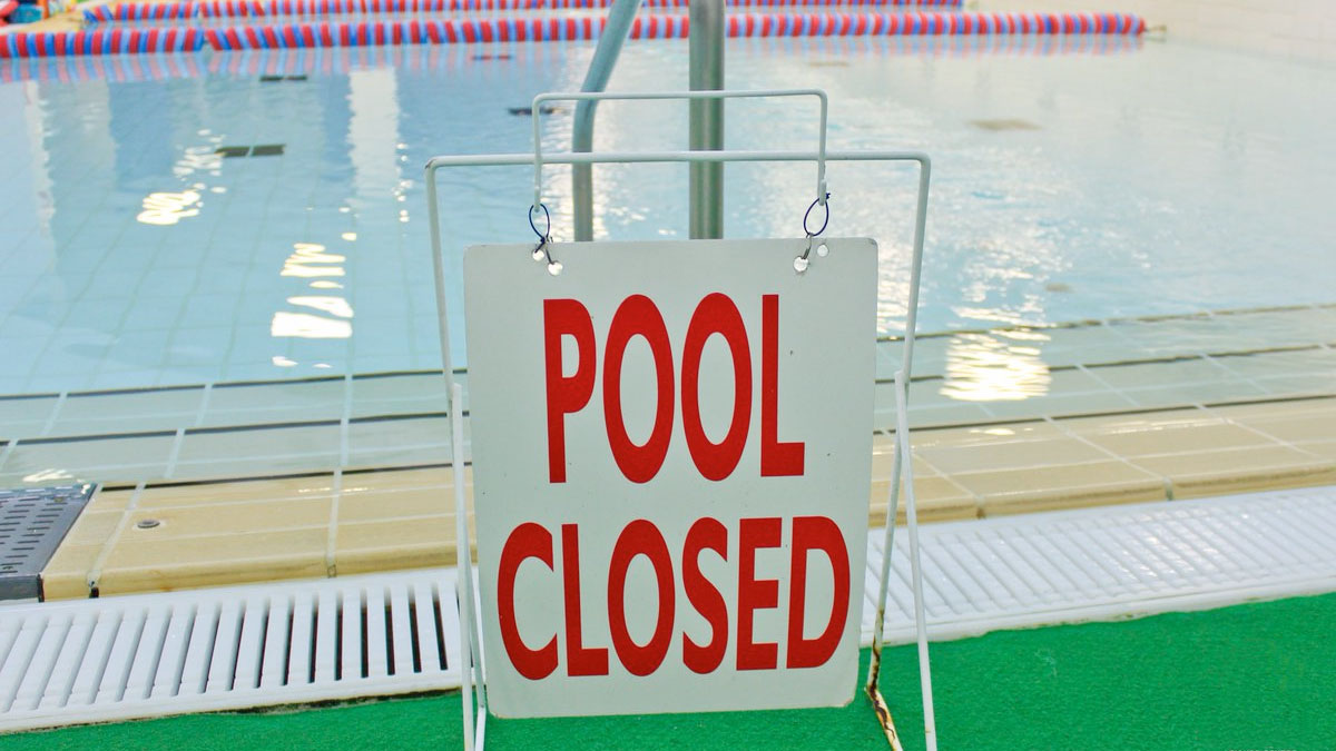 Guidance on temporary pool closure