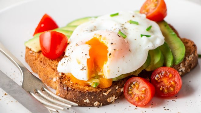 Recipe: Egg-Topped Avocado Toast
