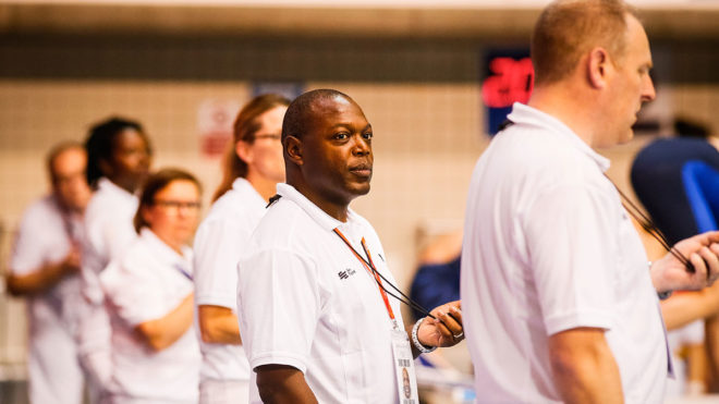 Officials at 2019 County Team Championships