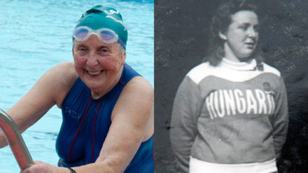 Crouch End swimmers pay tribute to local legends Susan and Roman Halter