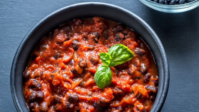Recipe: Sweet Potato and Black Bean Chilli