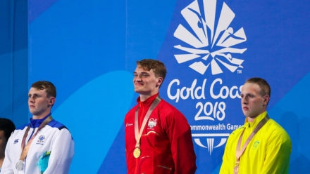 James Wilby looks back on his hat-trick of 2018 Commonwealth Games medals