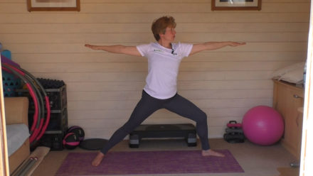 Balance exercises for supple strength workout