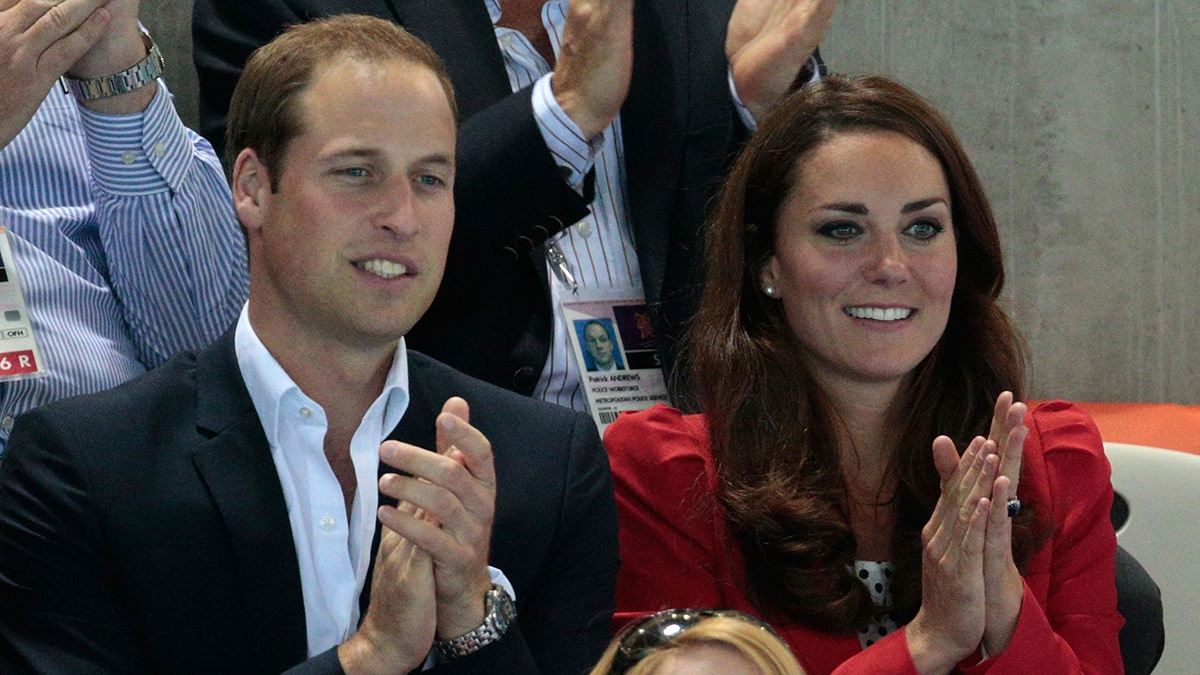 Swim England patron The Duke of Cambridge, pictured with the Duchess of Cambridge, has thanked Swim England staff for their work to support the swimming community during the coronavirus pandemic