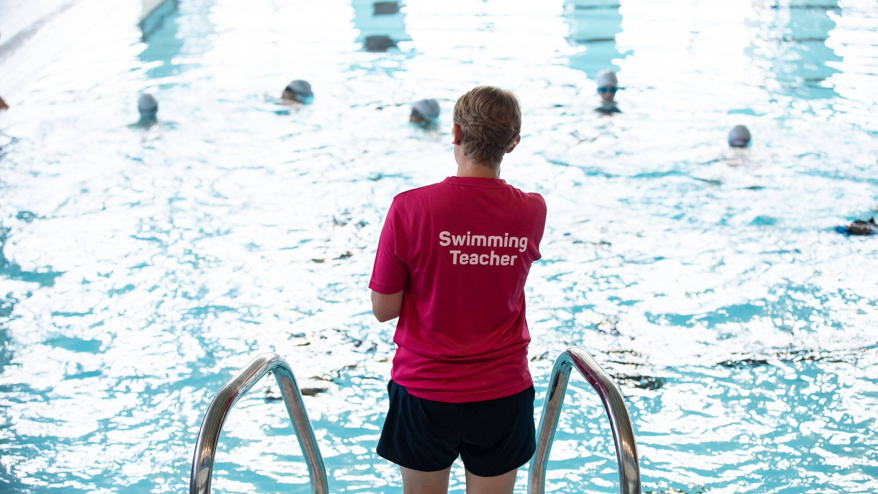 Swimming teacher training to support Swim England's Returning to Pools Guidance
