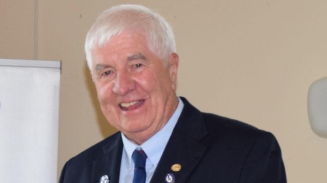 Humble David honoured to be named Alfred H Turner Award winner