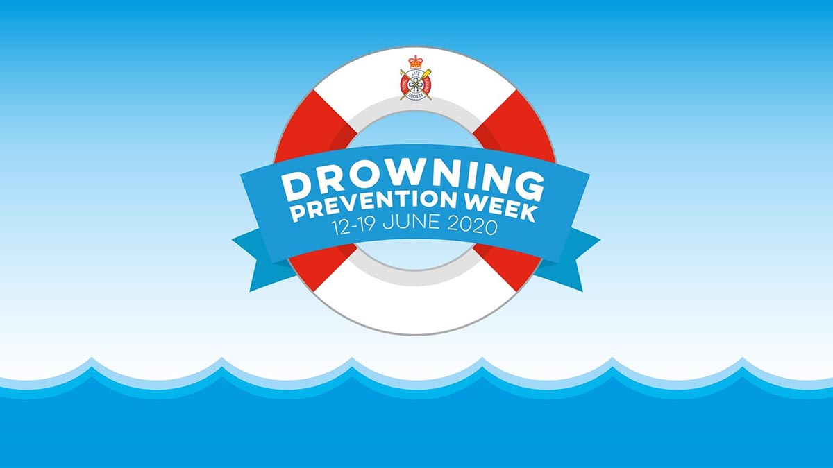Drowning Prevention Week logo