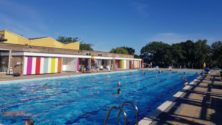 'I loved it so much'... outdoor pool users voice delight at being back in the water