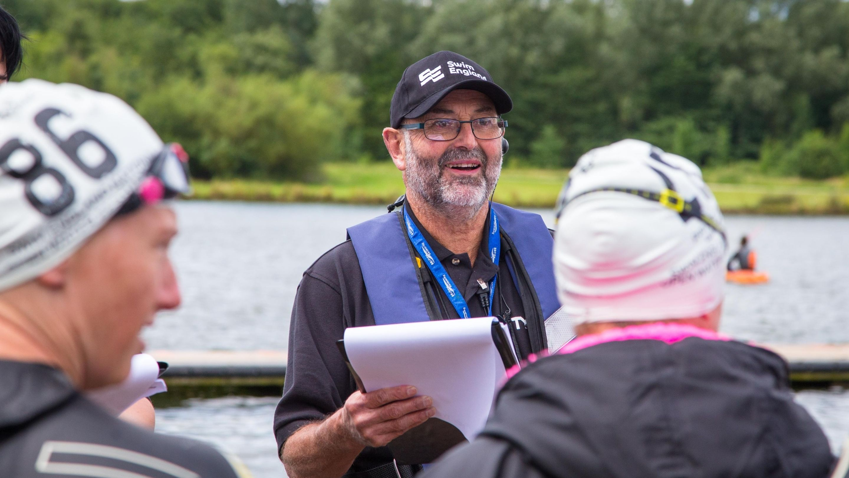 Open water course backed by all four home countries