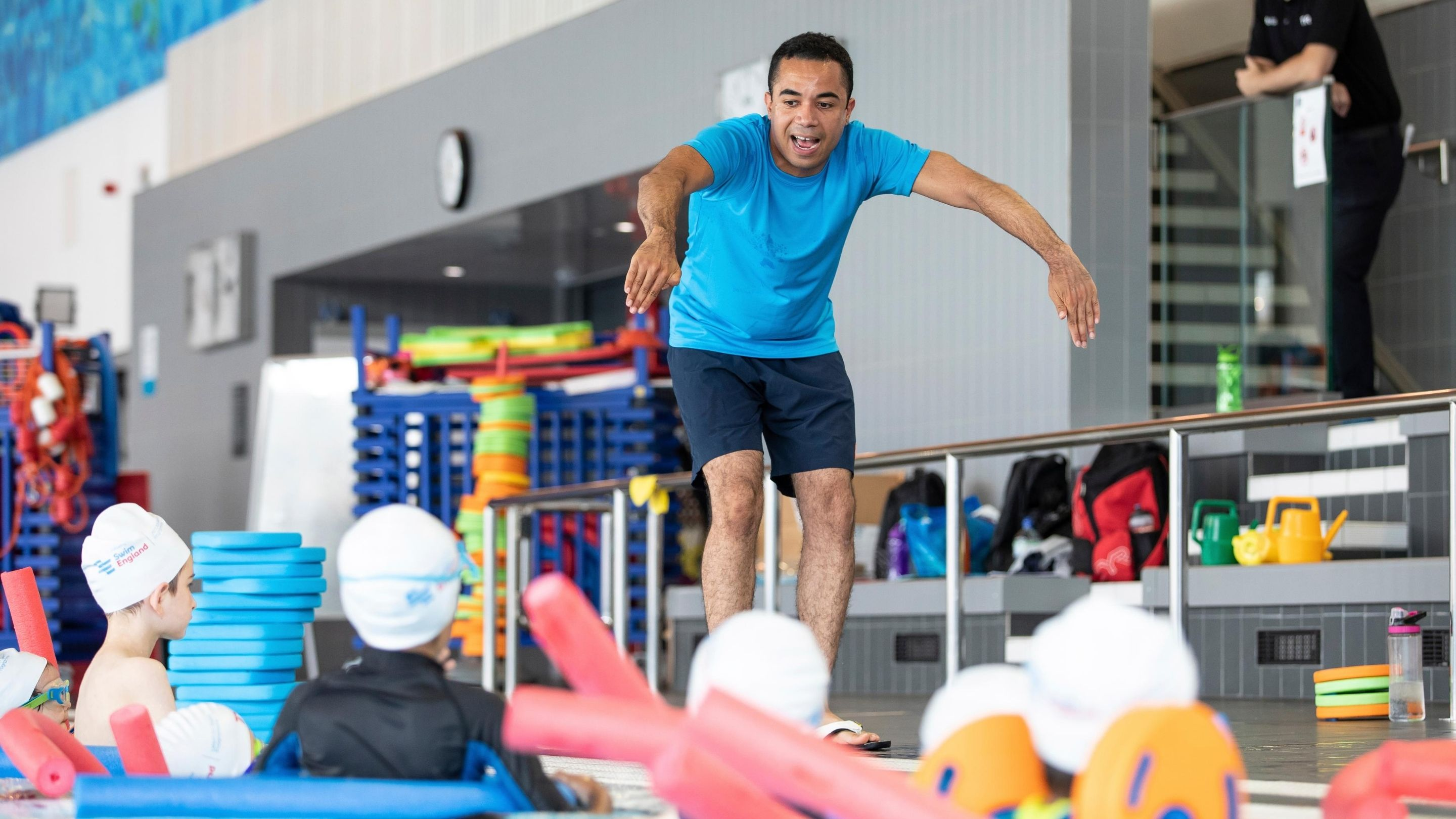 Everybody Sport and Recreation to help fund training in a bid to recruit new swimming teachers