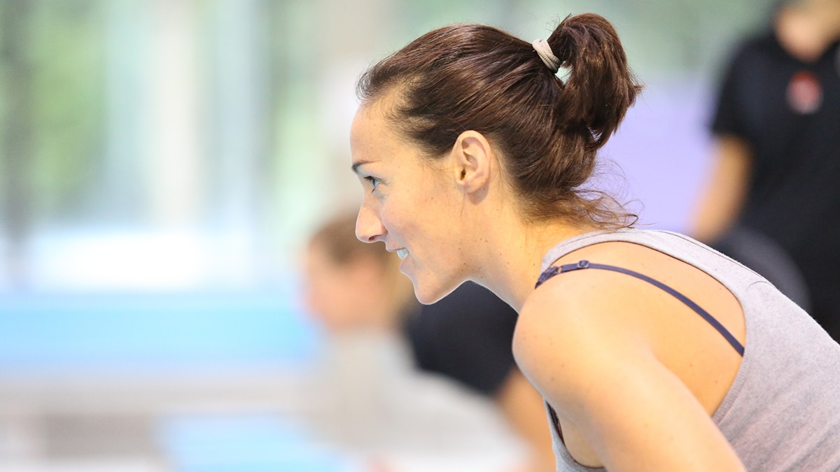 Youth squad coach Francesca's virtual view is online sessions help athletes improve