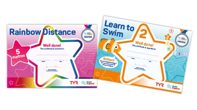 Bag a bargain as prices reduced on Learn to Swim Awards bundles