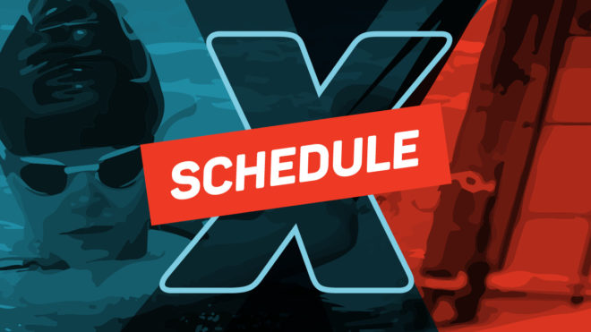 Level X Racing schedule