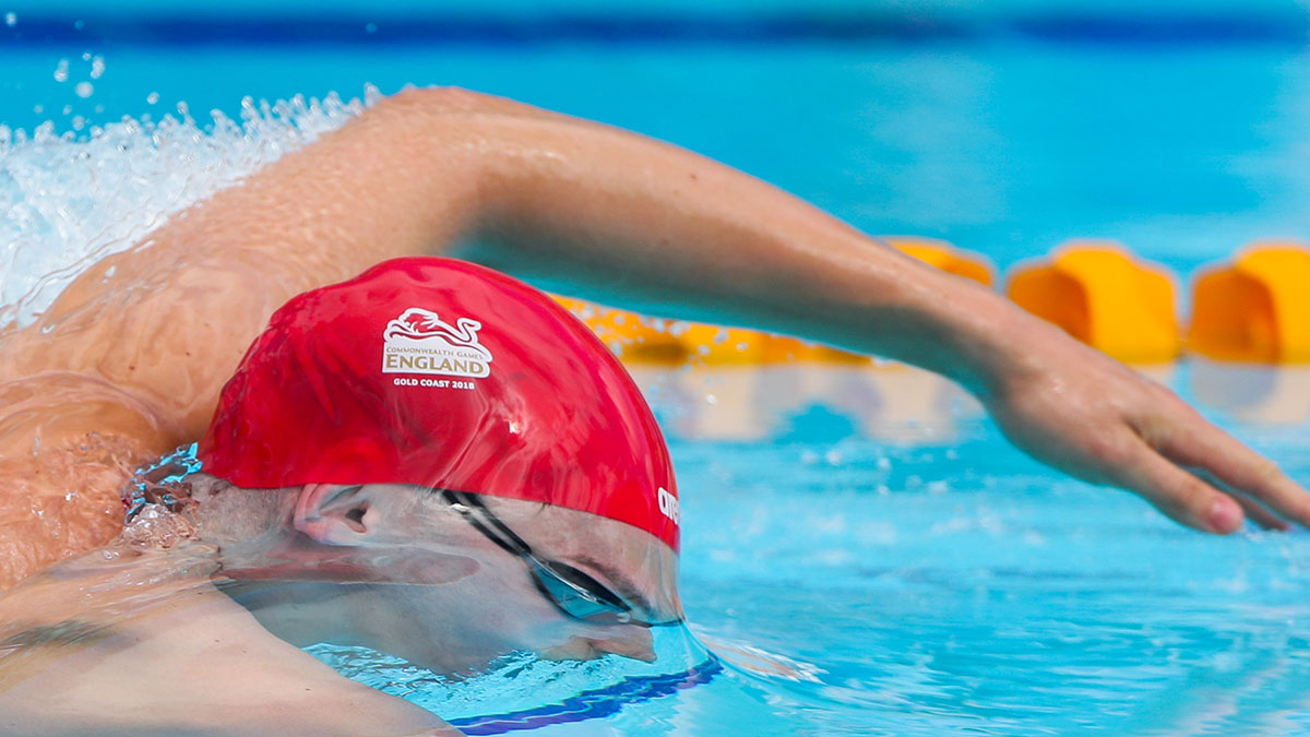 Team England swimming at 2018 Commonwealth Games