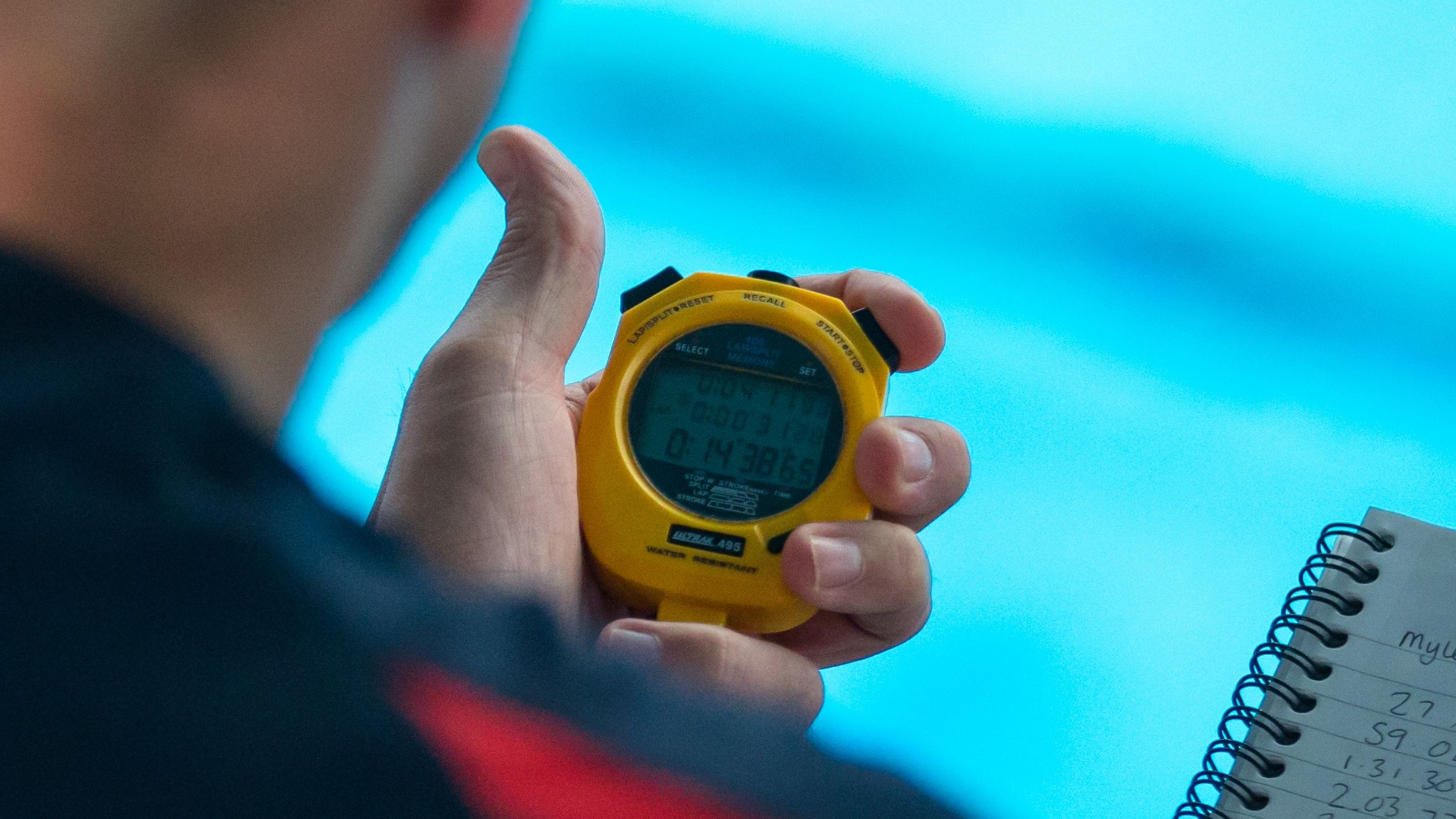 Swimming Technical Officials - Timekeeping