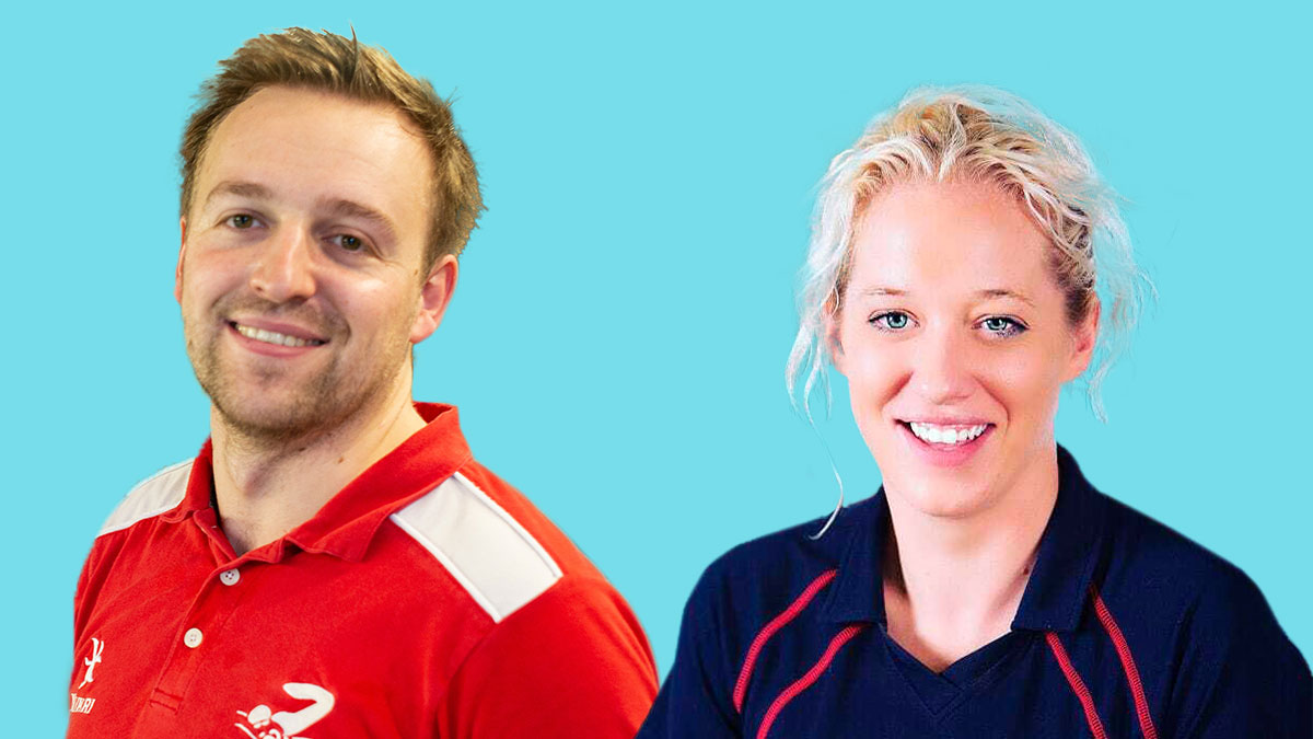 Swimming coaches Emma and Paddy named as finalists in UK Coaching Awards