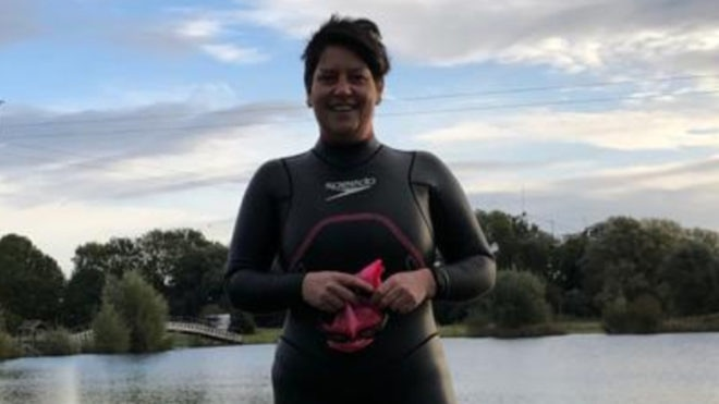 Swimming again after 22 years helped Sara lose six stone and gave her a fresh outlook