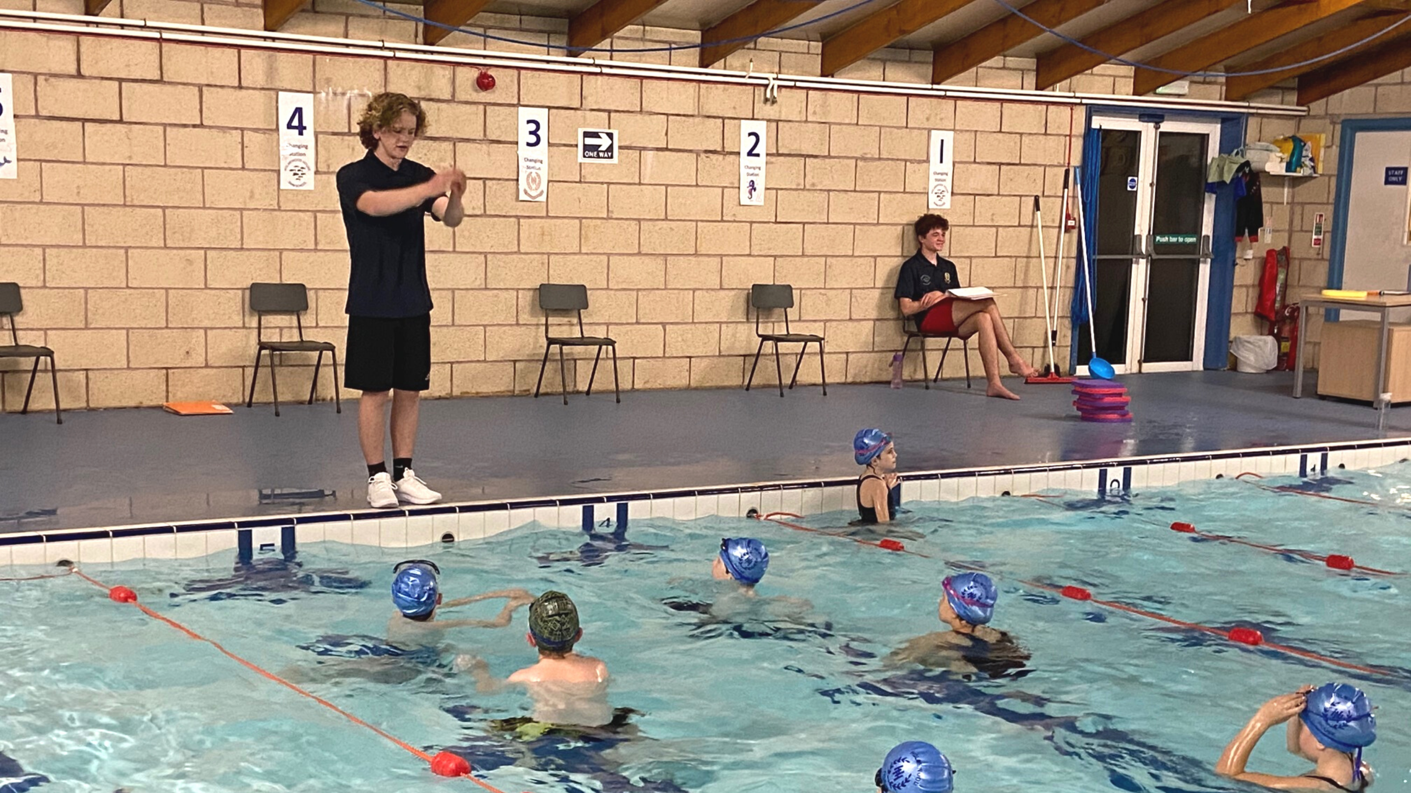 Becoming a Swimming Teacher during COVID-19: Henry's story