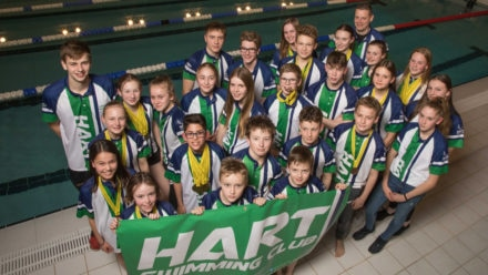Hart Swimming Club 'utterly thrilled' to receive Queen's Award nomination