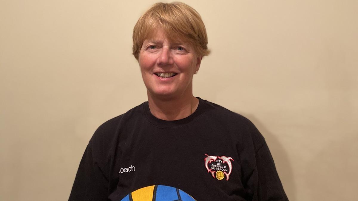 City of Sheffield Water Polo coach Pippa Jones