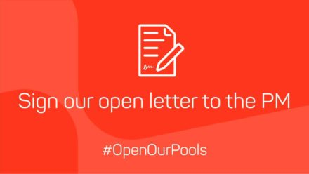 Sign letter to PM urging him to reconsider decision to shut 'essential' swimming pools