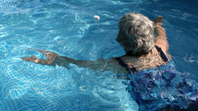 Swimming is my way of trying not to be a burden on the NHS, says 72-year-old Diana