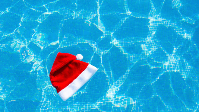 Give your swimming lessons a festive feel with these Christmas games ideas
