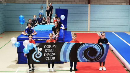 Corby Steel Diving Club created 'a sense of belonging' for all during lockdowns