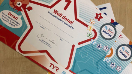 Top tips and advice on handling Learn to Swim Awards safely during Covid-19