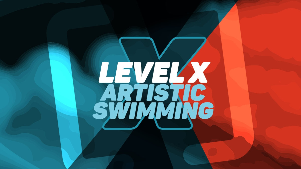 Level X Artistic Swimming Virtual Land Games 2021