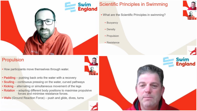 Para-swimming Talent coaches host 'informative and educational' Zoomcasts