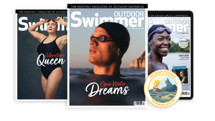 Three months for the price of one when you subscribe to Outdoor Swimmer