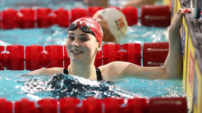 Freya Anderson says club swimming brought her 'out of her shell'