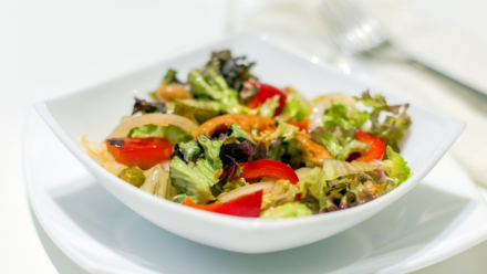 Recipe: Salmon and bean salad