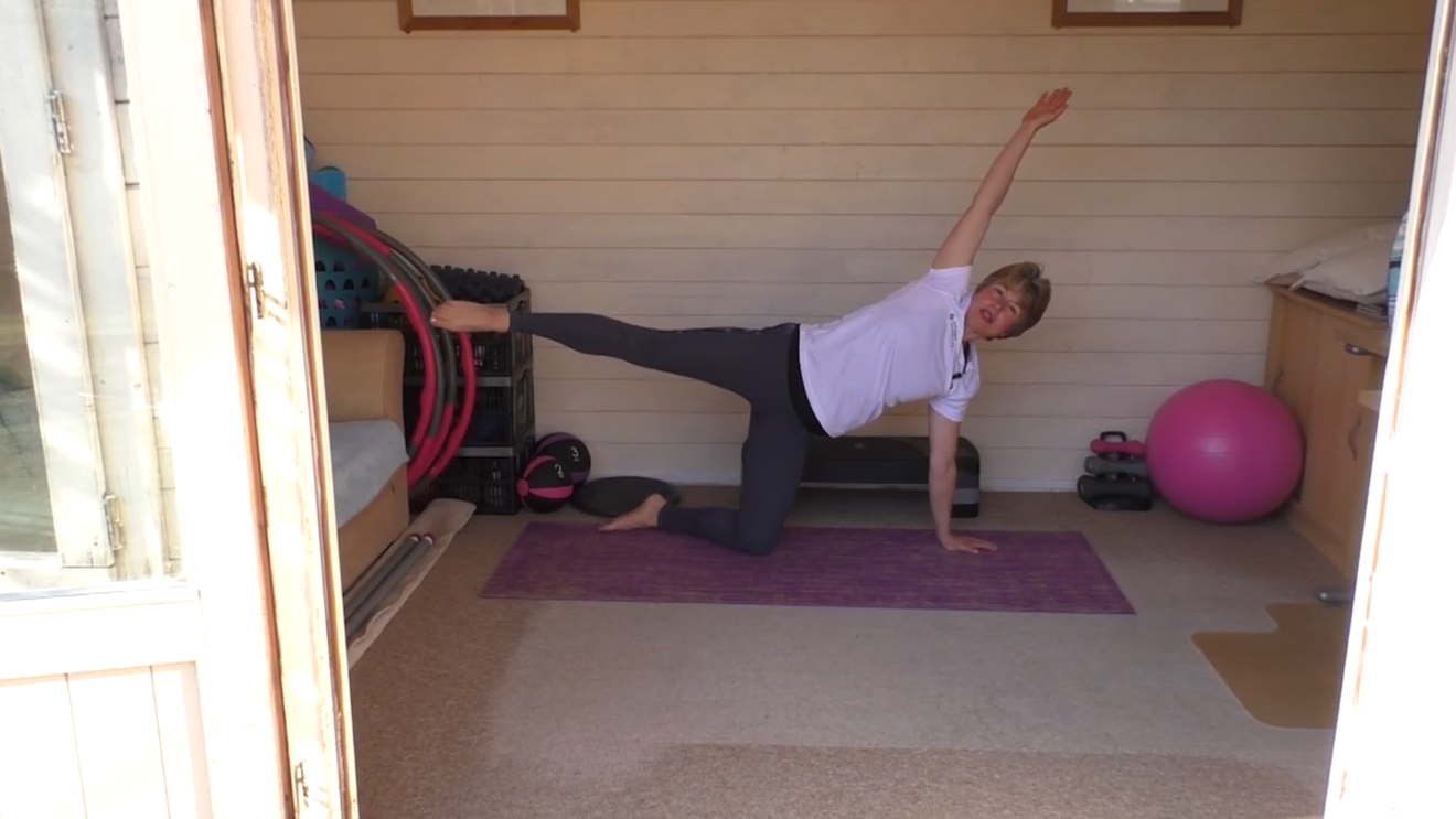 Advanced moves for supple strength workout