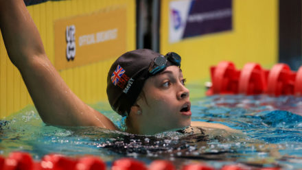 Harvey takes top spot on day one of British Para-Swimming International Meet