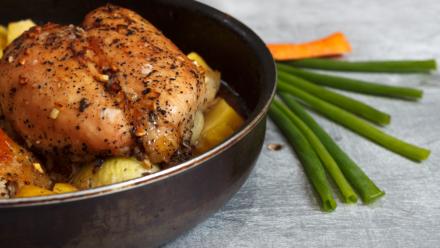 Recipe: Honey garlic chicken and vegetables