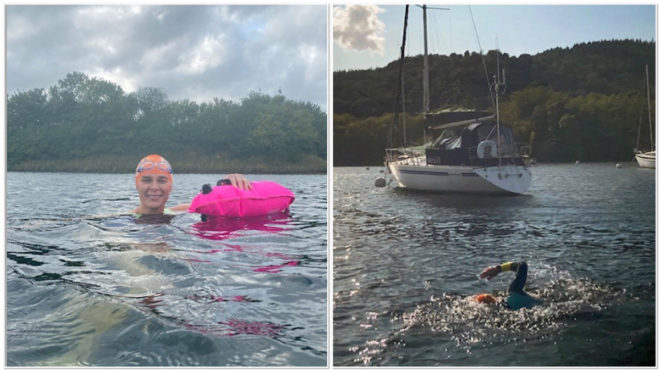 Jacqui Hargrave on feeling 'present' and the many benefits of open water swimming