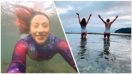 Daily sea swimmer Louise Dale on why she feels 'happiest when in the ocean'