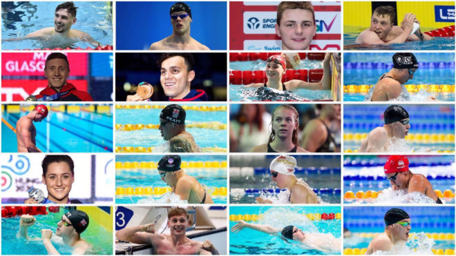 The English swimmers selected for the rearranged Tokyo 2020 Olympic Games