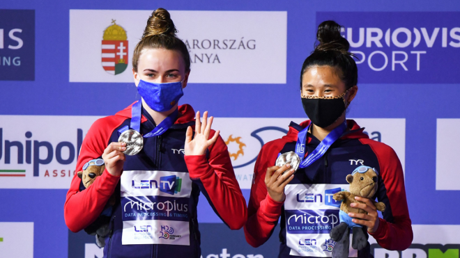 More silver success for GB as Toulson and Cheng add to medal tally