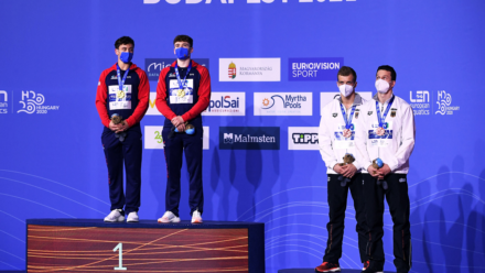 Tom Daley and Matty Lee win gold and crowned European champions in Budapest